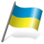 Ukraine Flag 3 Icon 64x64 png