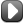 Media Square Black Play Grey Icon