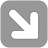 Arrow 1 Down Right Icon