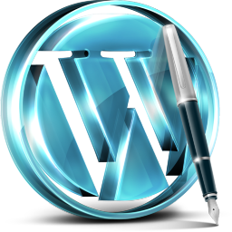 Blue Wordpress Icon Wordpress Lovers Icons Softicons Com